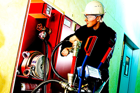 Services for fire safety infrastructure installations